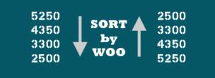 Не работает сортировка по цене woocommerce
