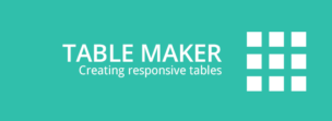 Плагин Table Maker для WordPress